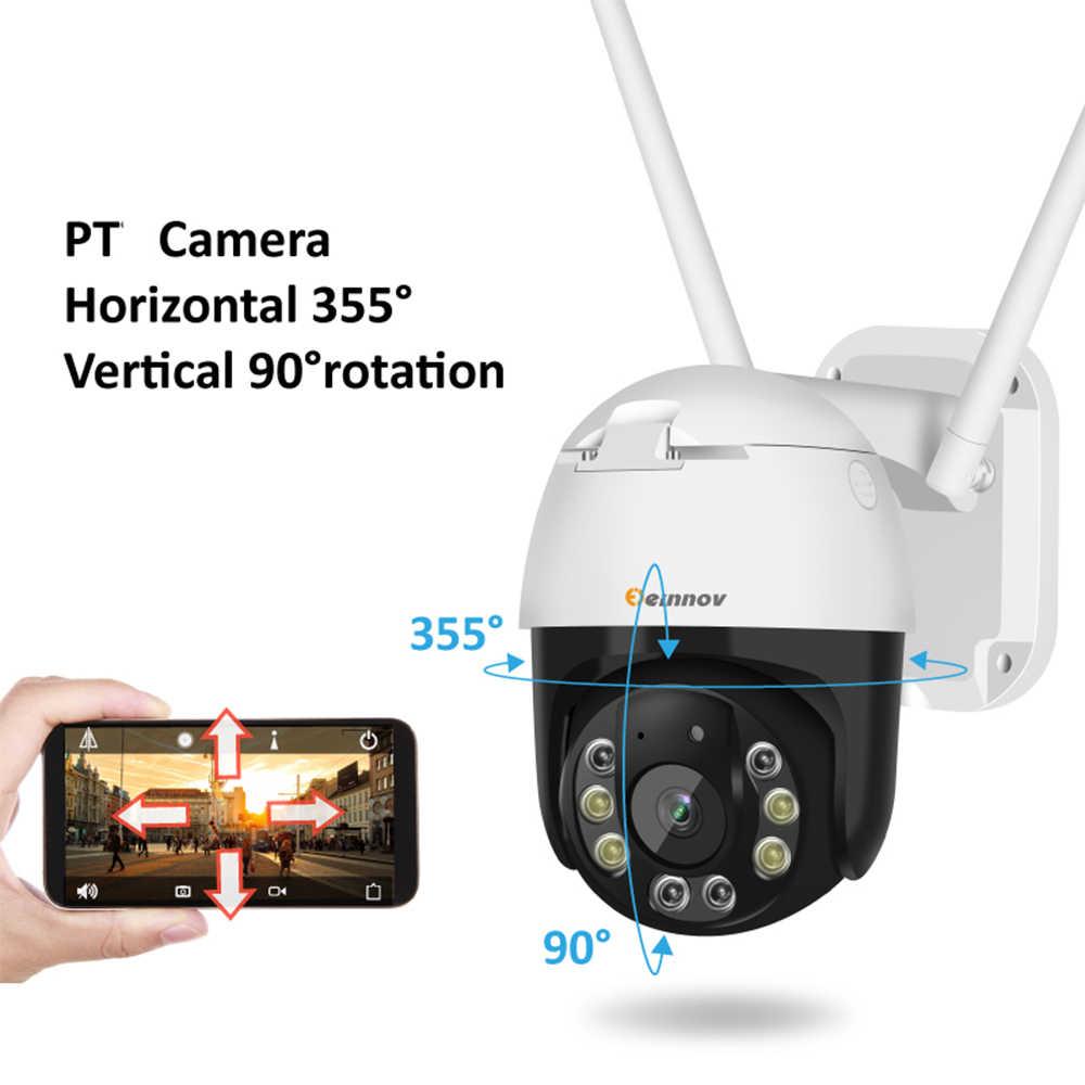 Einnov Wifi กล้อง IP ไร้สายกล้องรักษาความปลอดภัยกลางแจ้ง 1080 P HD การเฝ้าระวัง Camara Onvif 2MP IR Night Vision P2P yoosee
