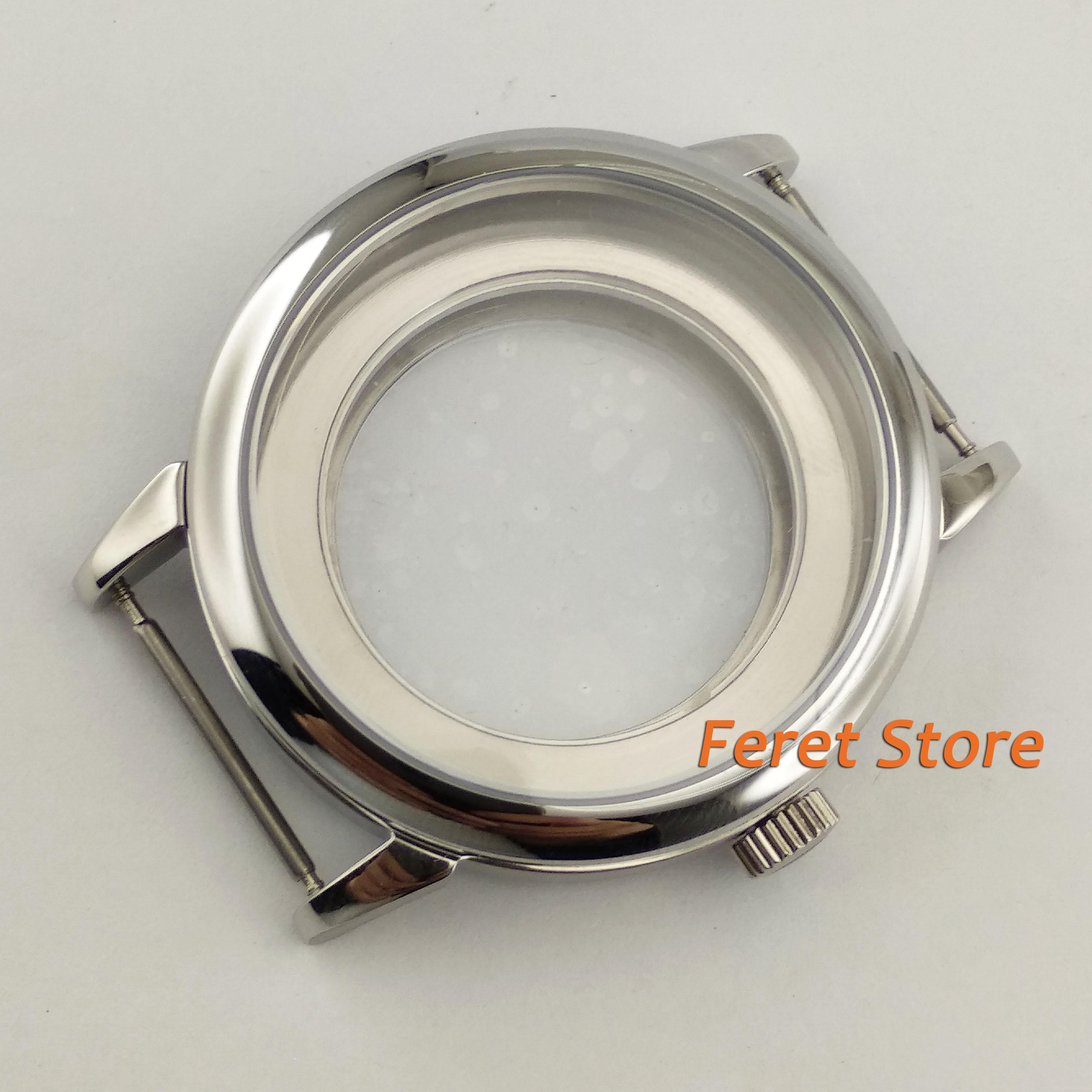 40mm Sapphire Glass watch Case Fit ETA 2836,DG2813/3804,Miyota 82 Series movement p57