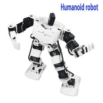 Newest DOF humanoid robot RoboSoul dance competition programmable with MP3
