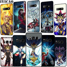 IYICAO Yu gi oh Anime Soft Silicone Phone Case for Samsung Galaxy S10 E S9 S8 Plus S6 S7 Edge S10e TPU Black Cover(China)