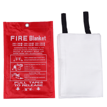 Sealed Fire Blanket 1M x 1M Home Safety Fighting Fire Extinguishers Tent Boat Emergency Survival Fire Shelter Safety Cover