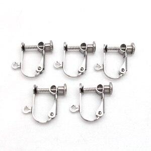 6 шт., клипсы-конвертеры для сережек из нержавеющей стали