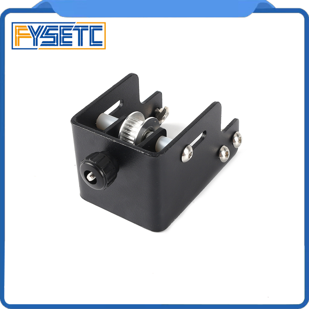 Black 4040 Profile Y-axis Synchronous Belt Stretch Ender-3 Pro Straighten Tensioner For Creality Ender3 PRO 3D Printer Parts