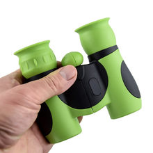 8 Multiples 21mm Compact Sport Binoculars FMC Coating Children's Binoculars Night Vision Straight Glasses Outdoor Toys(China)