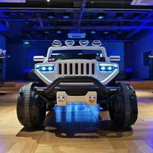 Elektryczny samochód dziecięcy napęd na cztery koła zdalnie sterowanym samochodowym huśtawką terenową pojazd dziecięcy zabawka dla dziecka elektryczny samochód dla dzieci jeździć tanie tanio Metal CN (pochodzenie) 3 lat Diecast