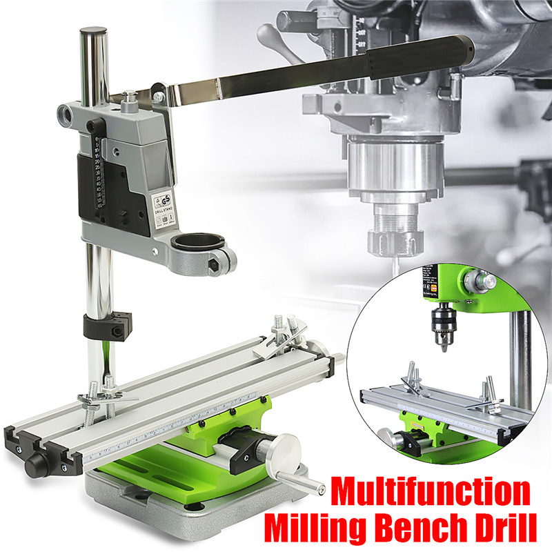 Mini Precision Multifunction Worktable Bench Vise Fixture Drill Milling Machine X And Y axis DIY Adjustment