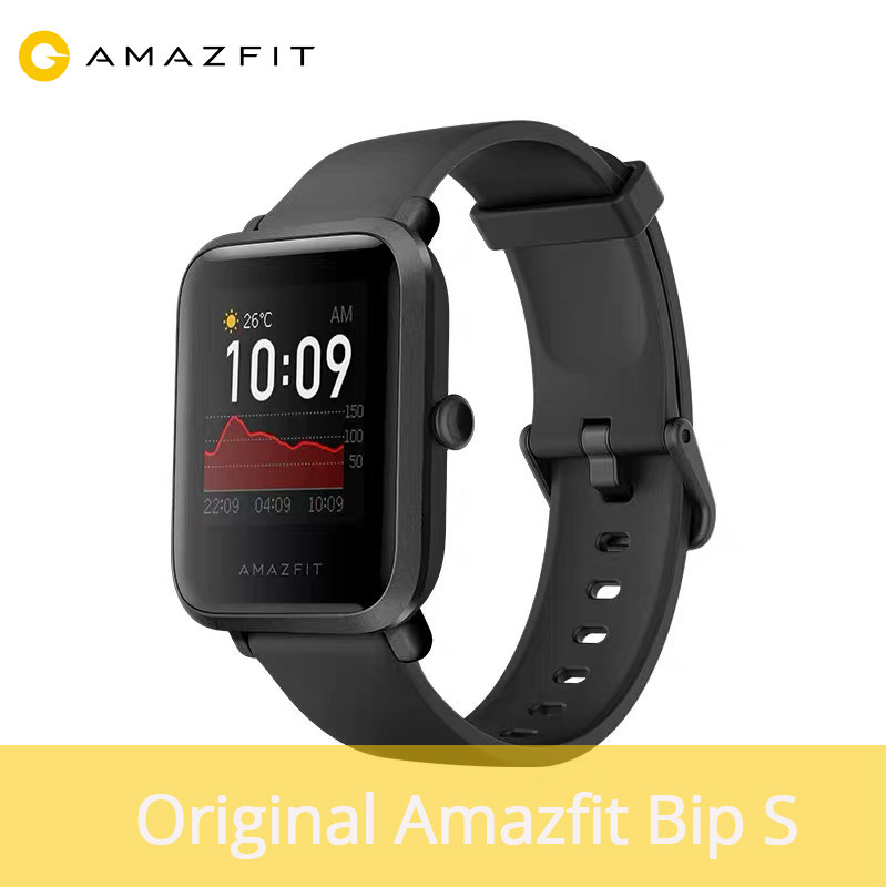 2020 New Global Amazfit Bip S Smartwatch 5ATM Waterproof Built In GPS GLONASS Bluetooth Health Smart Watch For Android IOS Phone