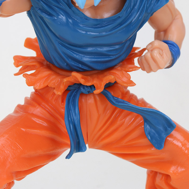 Image 5 - 20cm Dragon ball figure Super Saiyan 4 God SS Blue Hair goku Dragonball Goku Collection Figure Toy-in Action & Toy Figures from Toys & Hobbies