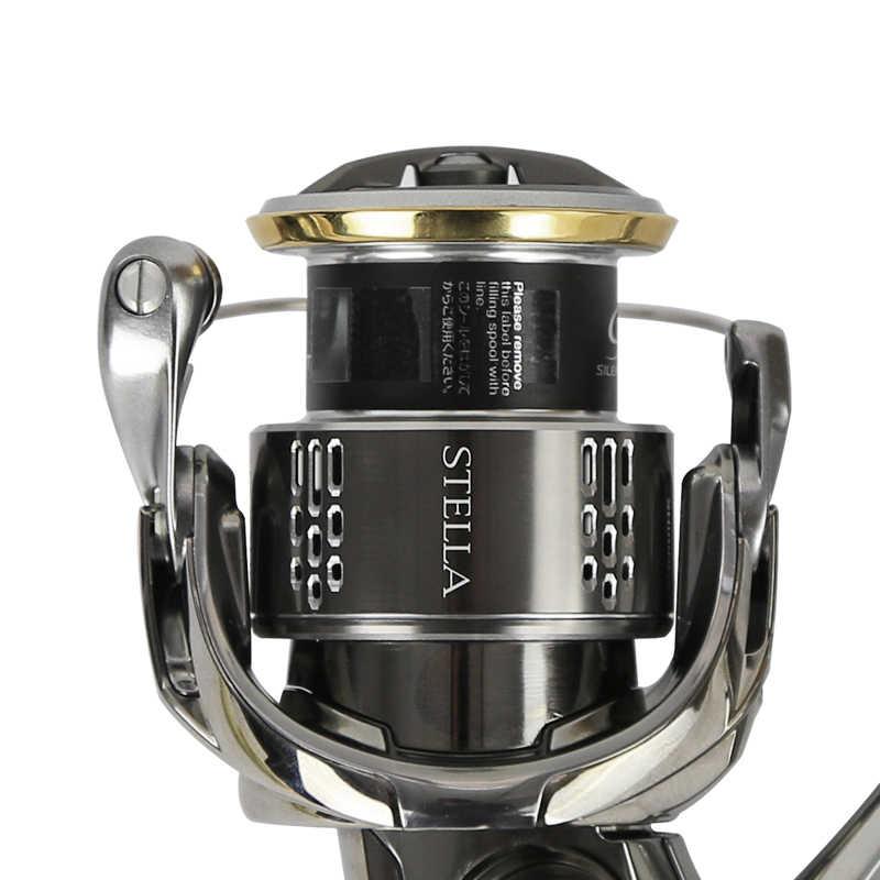 Shimano Stella Fj 1000 2500 3000 4000 5000 Stille Drive Saltwater Spinning Reel Fishing Made In Japan