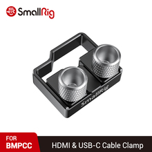 SmallRig BMPCC 4 K / BMPCC 6Kอุปกรณ์เสริมกล้องHDMI & USB CสายClampสำหรับBMPCC 4 Kกล้องSmallRig 2254 / 2203 Cage 2246