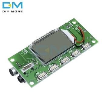 DSP PLL 87-108MHz Stereo módulo transmisor FM pantalla Digital LCD TARJETA DE MICRÓFONO INALÁMBRICO modulación de frecuencia multifunción