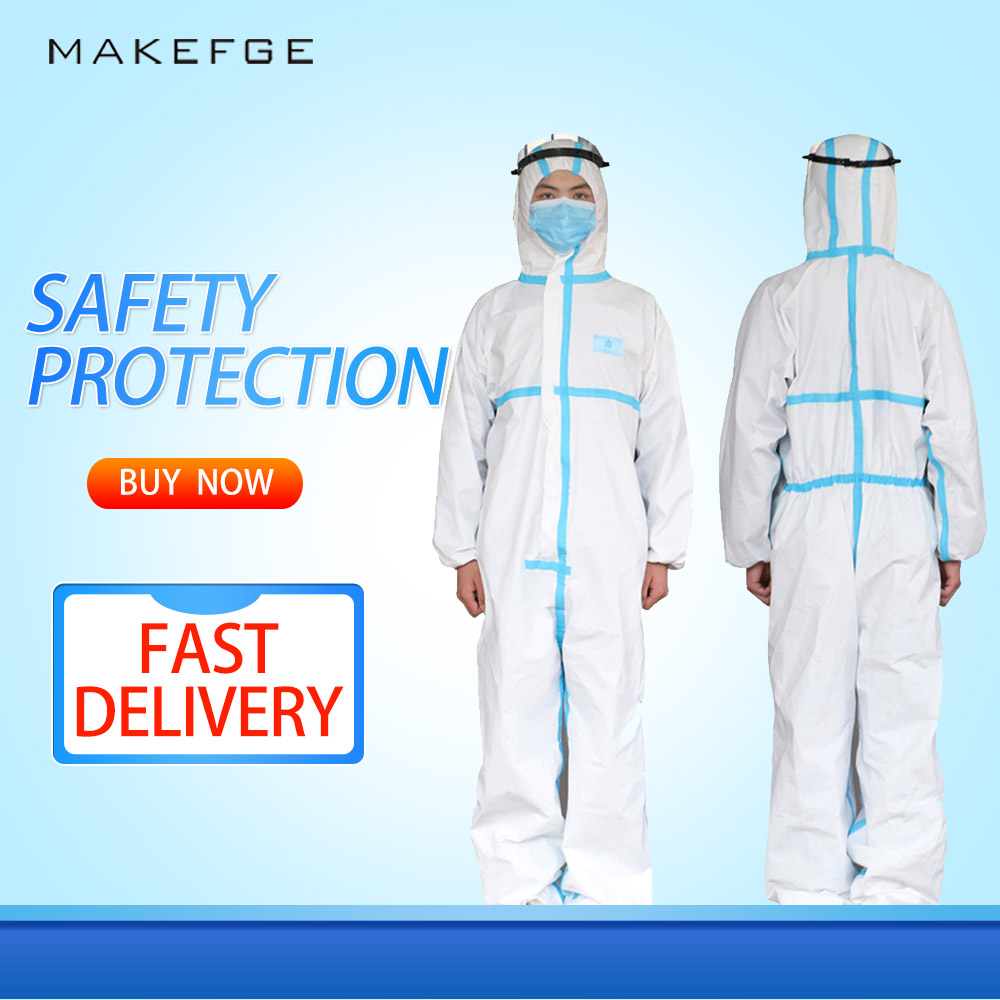 Disposable Isolation Clothing, Protective Clothing, Dustproof Overalls, Antistatic, Waterproof, Full Body Protection, Excellent