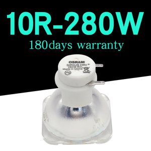 Image 2 - Free shipping 10R 280W Metal Halide Lamp moving 280 beam 280 SIRIUS HRI280W For Osram Made In China with high quality