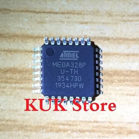 Real 100% Original NEW MEGA328P AU / ATMEGA328P U-TH ATMEGA328P-AU ATMEGA328PAU QFP32 5PCS/LOT