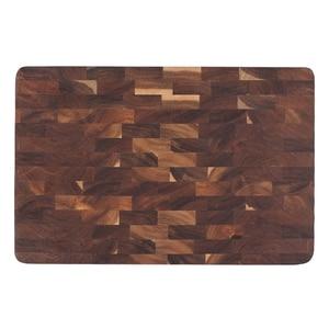 Image 1 - פרימיום Acacia עץ חיתוך לוח עם יד כידון חסון מוצק קיצוץ הגשת מגש מגש מושלם מתנה לא צבע חיתוך כלי