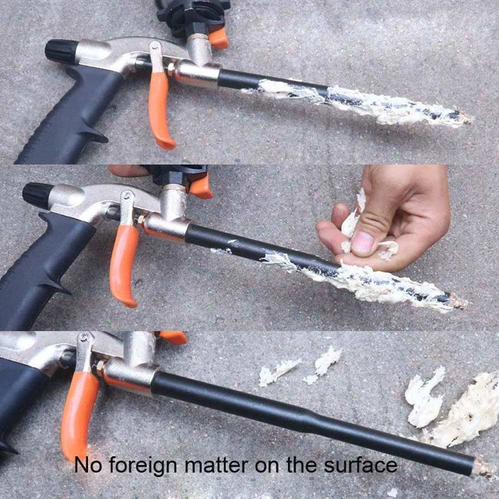 Metal Polyurethane Foam Sealant Special Gun PU Foam Gun Grade Expanding Spray Application Applicator Length 32cm