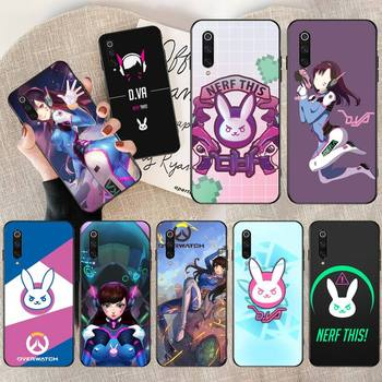 PENGHUWAN OW overwatch D Va Slim Customer High Quality Phone Case for Redmi Note 8 8A 7 6 6A 5 5A 4 4X 4A Go Pro Plus Prime image