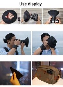 Image 5 - Đa Năng Fodable Silicone Cực Lens Hood Bao Da Bảo Vệ Chống Kính Phản Xạ Cho Canon Nikon Sony Fuji Camera Chụp Ảnh Video