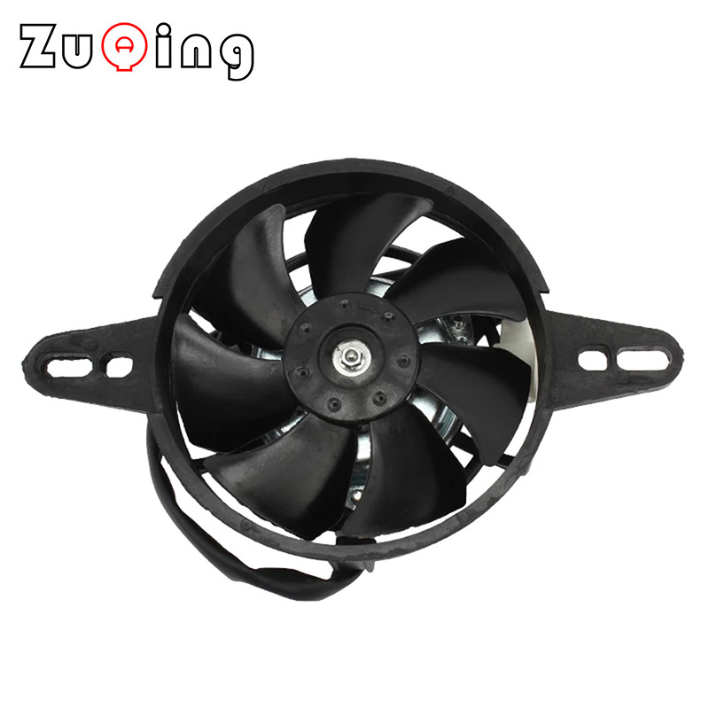 Motorcycle Cooling fan Oil Cooler Electric Radiator Engine Radiator Fit for 150cc 200cc 250cc Motocross ATV Quad Buggy