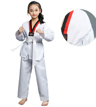 Profession White Taekwondo Brand New Product Adult Child Kids Breathable Cotton Taekwondo Uniform Approved Taekwondo Clothes S конкурс для детей taekwondo обувь мужчины и женщины дышащая одежда taekwondo обувь взрослые боевые искусства практике обувь