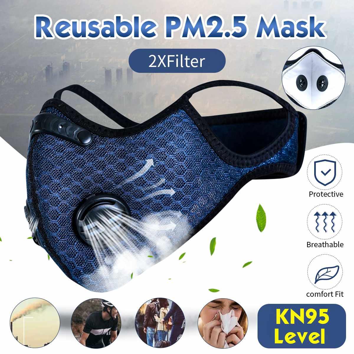 Высококлассная маска для рта, маска для дыхания от пыли PM2.5, анти-туман и туман, маска для дыхания, модная женская и мужская маска для рта с флитером