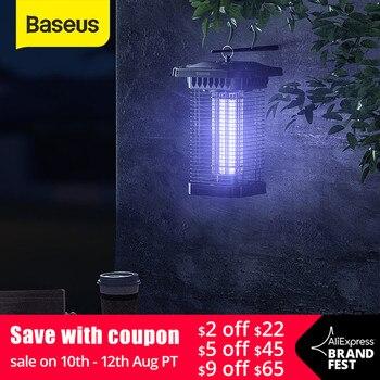 Baseus Courtyards Mosquito Light Led Mosquito Killer Lamp Photocatalytic Repellent Pest Trap Light Garden Courtyards Night Light