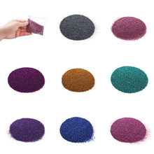 Pigment de remplissage en résine époxy UV, paillettes colorées pour Nail Art, accessoires de fabrication de bijoux à faire soi-même, 20 g/sac