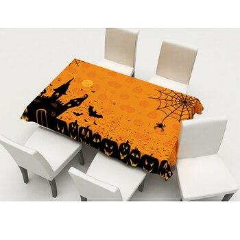 2 Pcs Table Runner Desktop Halloween Table Flag for Christmas Halloween