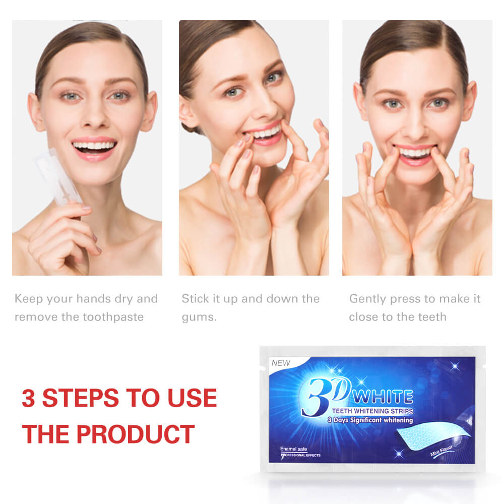 Whitestrips LUXE 3D Profissionais Dentes Branqueamento Tiras Teeth Whitening Dental Care Higiene Oral in Teeth Whitening from Beauty Health