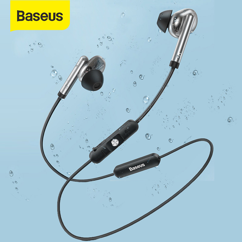 Baseus S30 Bluetooth 5.0 Earphone Wireless Earphone Sport Stereo Earbuds Waterproof Magnet Bluetooth Earphone with Mic for Phone|Bluetooth Earphones & Headphones|   - AliExpress