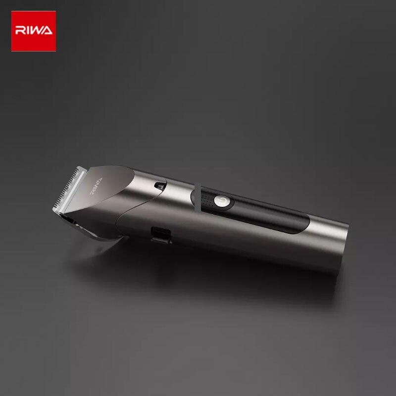 riwa barbeiro aparador de cabelo tela led 04
