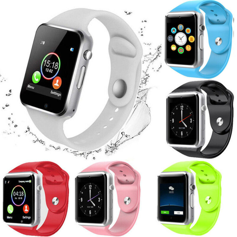 Waterproof Bluetooth Smart Watch GT08 Smartwatch Watch Phone Support SIM TF Card & Camera