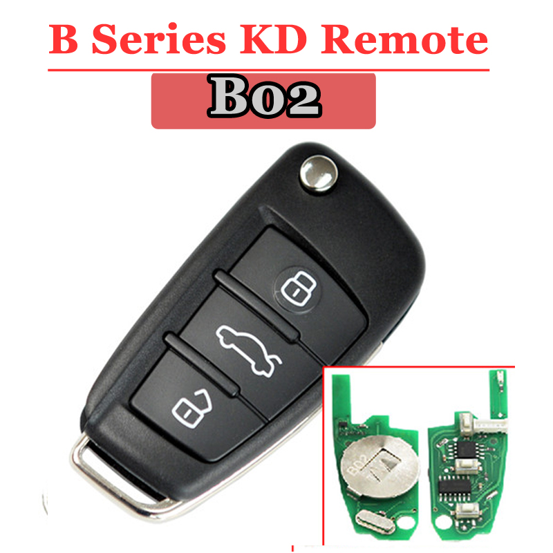 Fast Shipping(1piece) B02 3 Button Kd900 Remote Key  For Keydiy  Kd900 KD900+ Machine