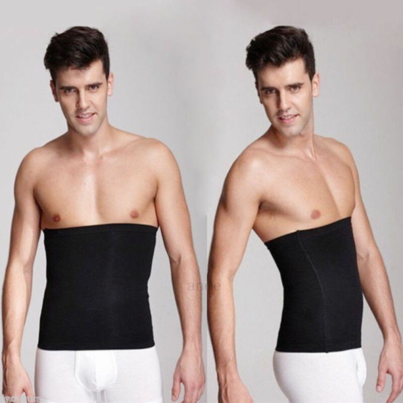 Meihuida Men Waist Trainer Clincher Body Fajitas Corset Gym Sport Body Shape Slim Belt Solid Clothing Model Tape