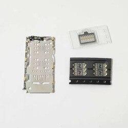 5 zestaw/10 zestaw taca kart sim pokrywa gniazdo czytnik karta micro sd gniazdo złącza uchwyt na samsunga Galaxy A7 A750 2018