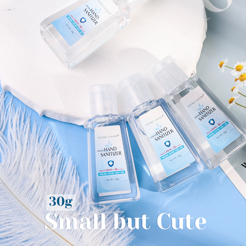 30ml Travel Portable Hand Gel Anti-Bacteria Liquid Disposable No Clean Waterless Gel Hand Antiseptic Gel No Washing TSLM1