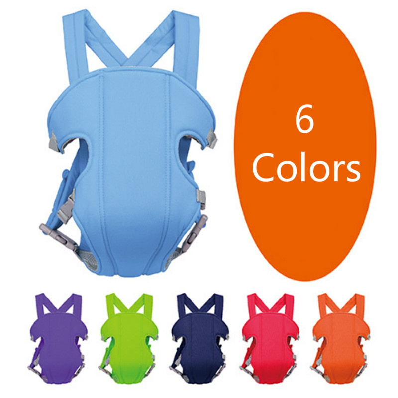 Newborn Baby Carrier Kangaroo Toddler Sling Backpack Wrap Portable Infant Hipseat Soft Breathable Adjustable Hip Seat 3-16 Month