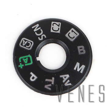 Esfera de modo de botón de cubierta superior Venes para Canon para EOS 6D Mark II 6D2 6DII Unidad de pieza de reparación de cámara