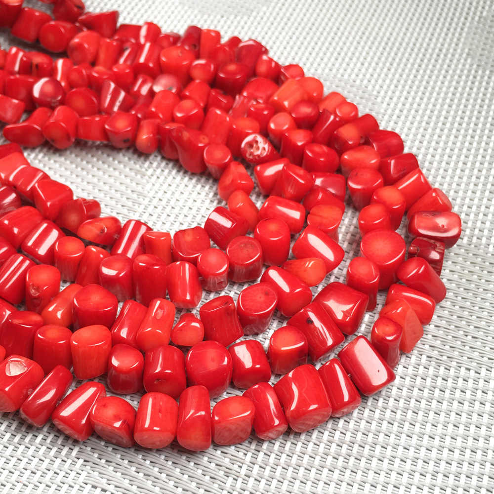 Irregular shape Natural Stone coral beads loose beads isolation bead for Jewelry Making DIY for bracelet necklace Accessories
