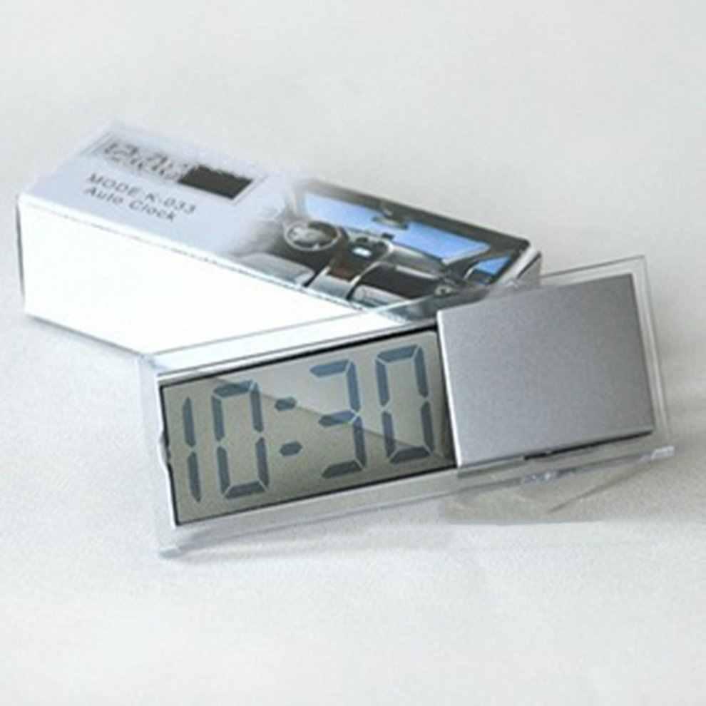 שקוף יניקה כוס Lcd שעון אלקטרוני ברכב מקורה אלקטרוני שעון לוח זמנים זמין עבור בית