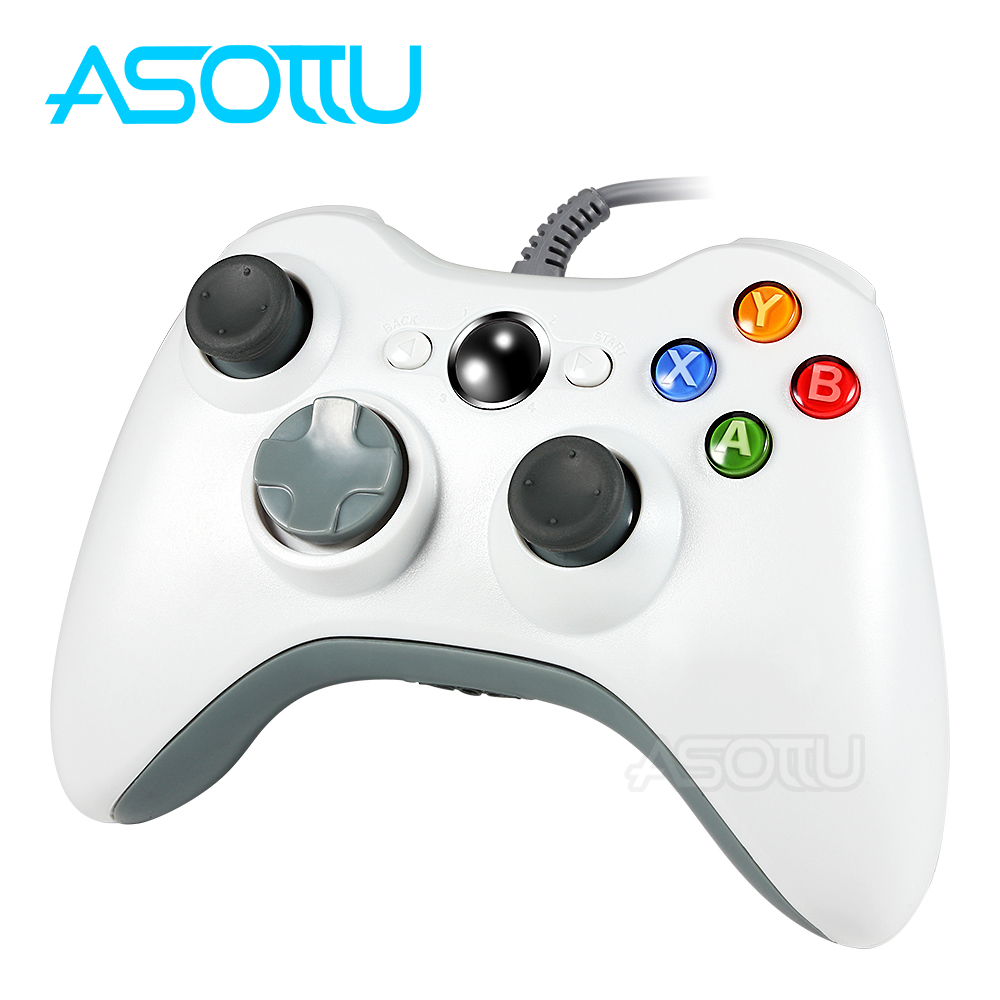 Asottu  For Xbox 360 XW03 PC Controller For Xbox 360 Wired USB Gamepad Compatible For Microsoft 360 Console Windows PC
