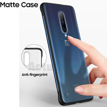 oneplus 7 pro case smart mirror flip case for one plus 6t 7 protective cover on one plus 7 clear view stand case for one plus 6t For Oneplus 7 Case For Oneplus 7 Pro 6 6T Thin Clear Matte Back Cover Case One Plus 7 Pro 7Pro Soft TPU Hard PC Shockproof Cases