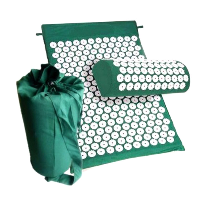 SEC88 Acupressure Massage Mat with Pillow set for Stress Pain and Tension Relief 19