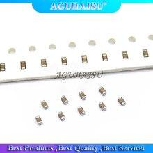 100pcs 0603 50V SMD Thick Film Chip Multilayer Ceramic Capacitor 0.5pF-22uF 10NF 100NF 1UF 2.2UF 4.7UF 10UF 1PF 6PF