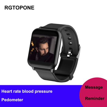 RGTOPONE Women Smart Watch Swimming Waterproof Reloj Inteligente Hear Rate Monitor Fitness Tracker Sleep Men Bracelet Pedometer