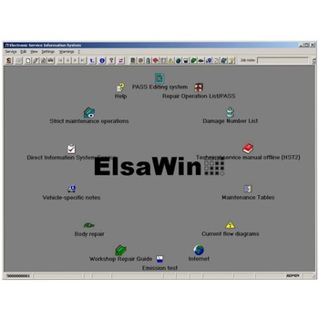 2020 Hot Auto Repair Software ElsaWin 6.0 work for V-W 5.3 For Audi Auto Repair Software Elsa Win 6.0 in 80gb hdd Free Shipping hot sale front auto bearing hub assembly kit fit for car audi a2 vw lupo vkba3550 6e0407621d free shipping