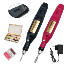 JY Mini Electric Grinder Set Variable Speed Used For Jade Polishing Wood Carving Drilling Rotary Tools 60W Mini Grinding Machine