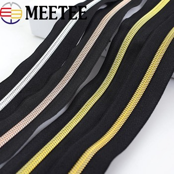 4Meters Eco-friendly 5# Nylon Zipper for Sewing DIY Zip Clothes Open-end Zippers Sports Coat Bag Garment Clothing Accessories