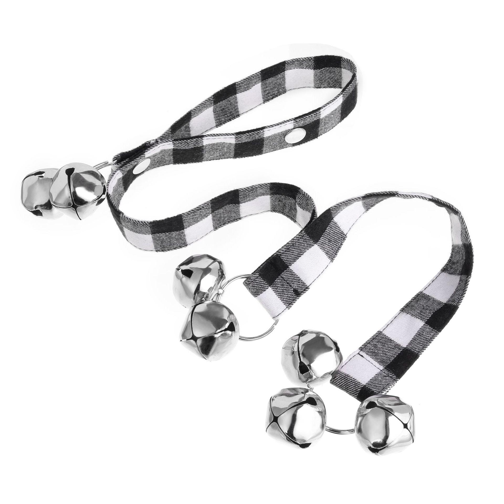 Dog Doorbells With Rope Premium Quality Training Great Dog Bells Adjustable Door Bell Pet Dog Training Supplies-4