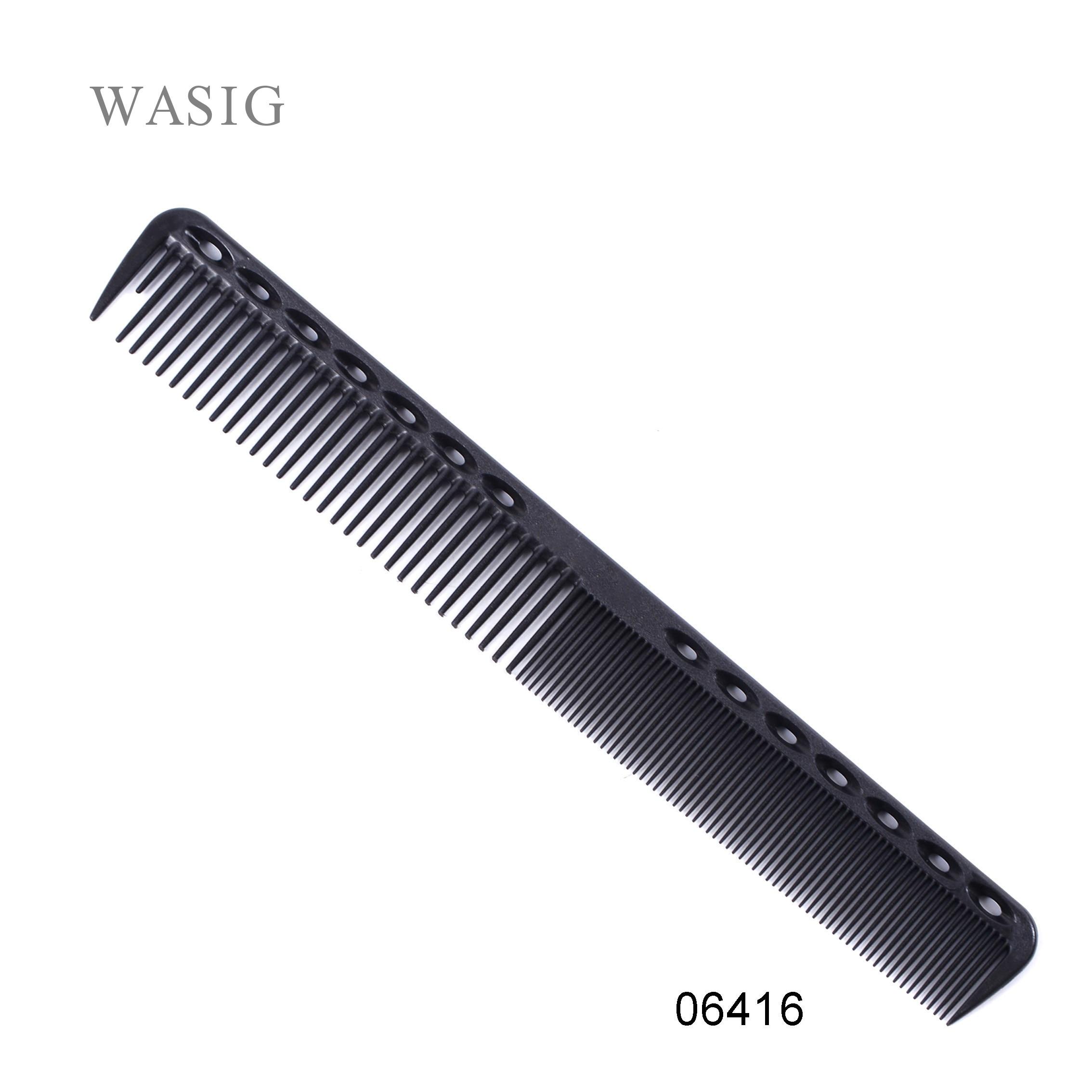1 Pc Professional Hair Cricket Comb Heat Resistant Medium Cutting Carbon Comb Salon Antistatic Barber Styling Brush Tool